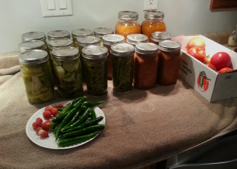 First year of canning